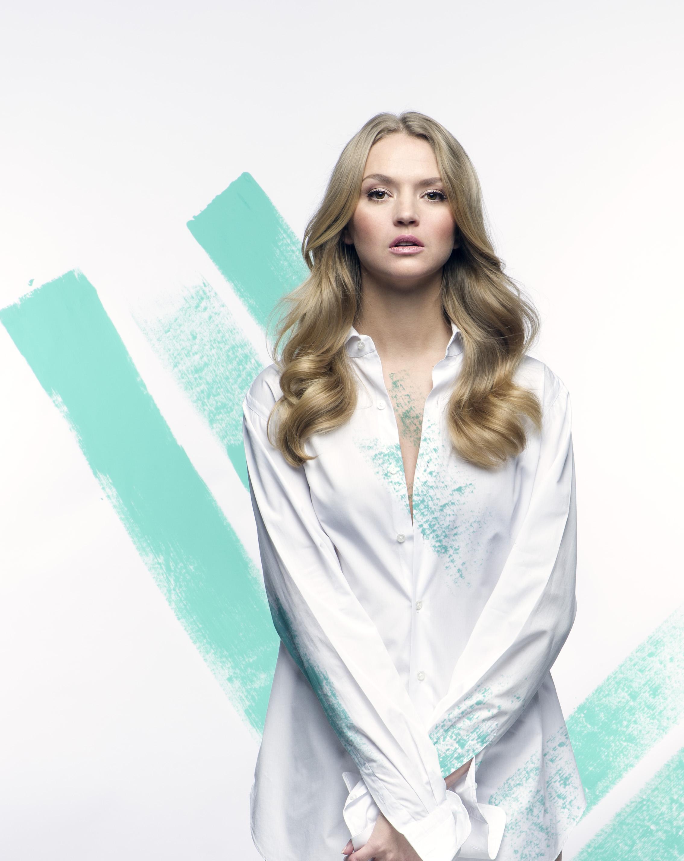 Model Nadine @ Max Models